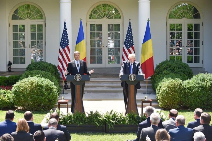 Klaus Iohannis la Casa Albă