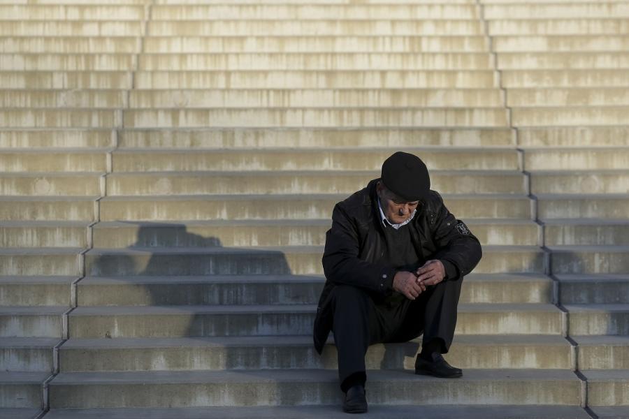 Pensionar pe scări