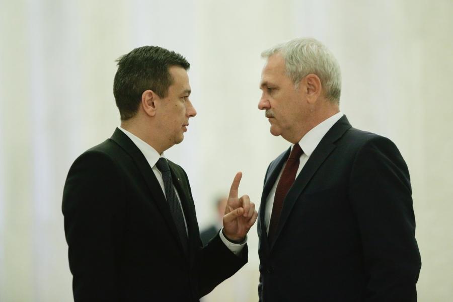 Liviu Dragnea - Sorin Grindeanu PSD
