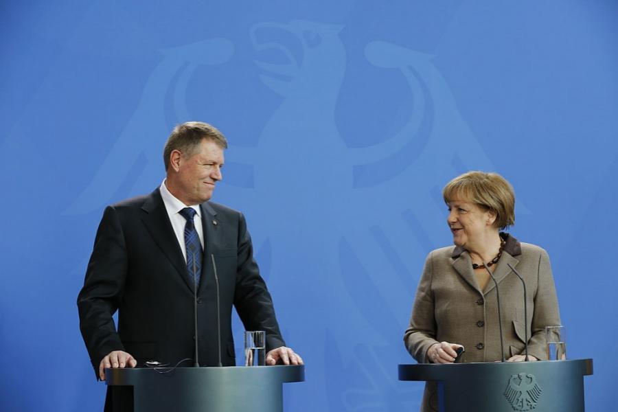 Iohannis și Merkel