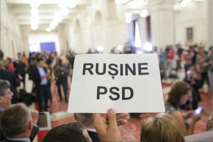 Moțiunea de cenzură împotriva Guvernului Sorin Grindeanu