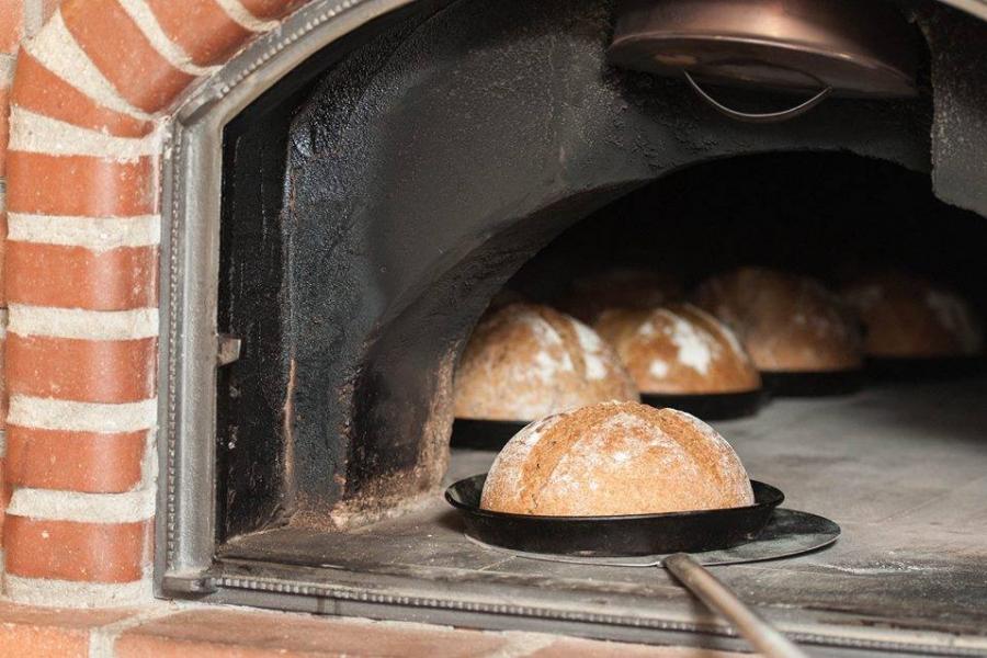 Pâine în cuptor