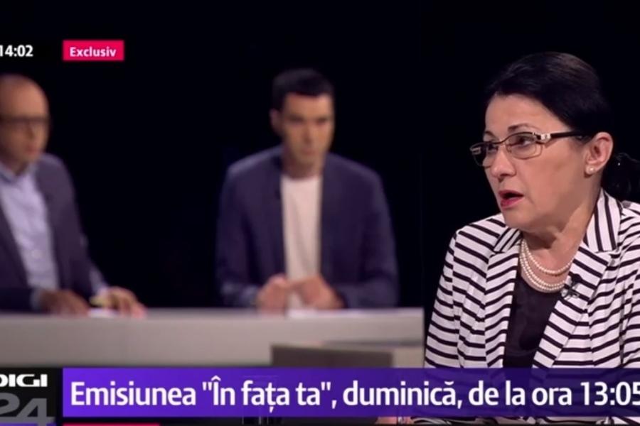 """Ecaterina Andronescu, """"În fața ta"""""""