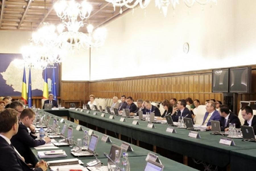 Guvernul Tudose în ședință