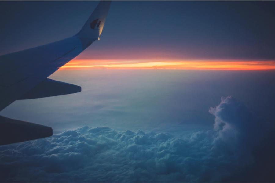 Priveliște din avion