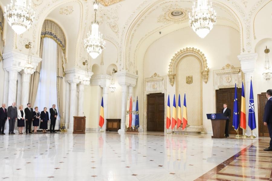 Guvernul Tudose la Cotroceni