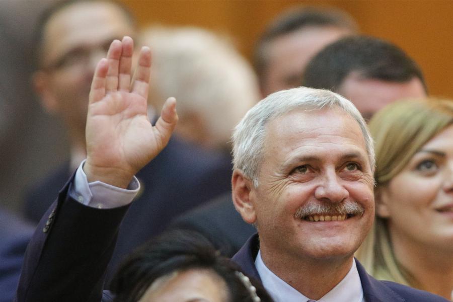 Liviu Dragnea, președintele Camerei Deputaților