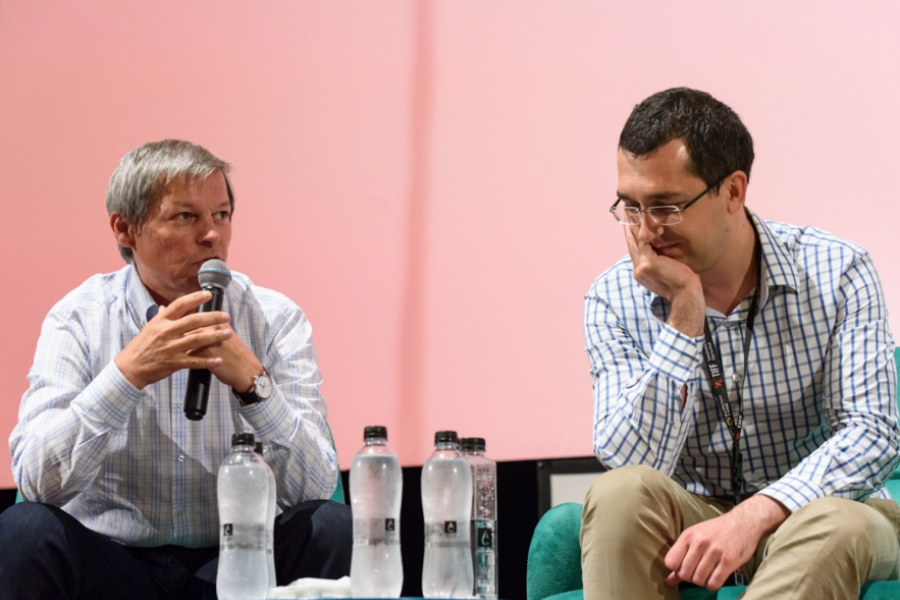 Dacian Cioloș și Vlad Voiculescu