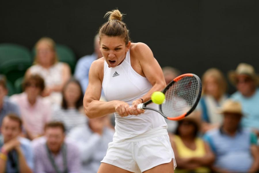 Simona la Wimbledon