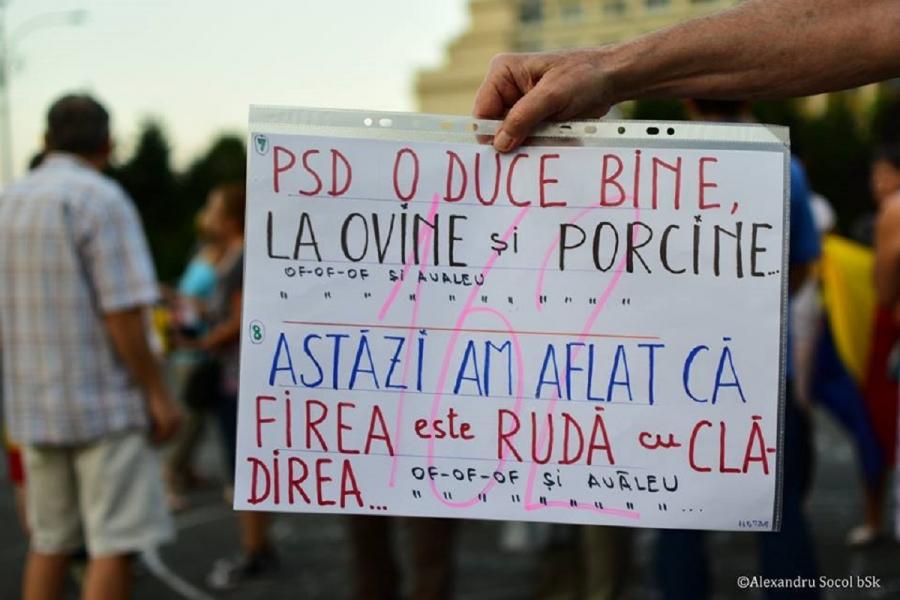 Pancartă #rezist
