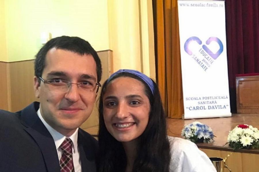 Vlad Voiculescu și Ionela Almăjan
