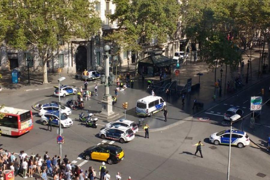 Atac terorist la Barcelona
