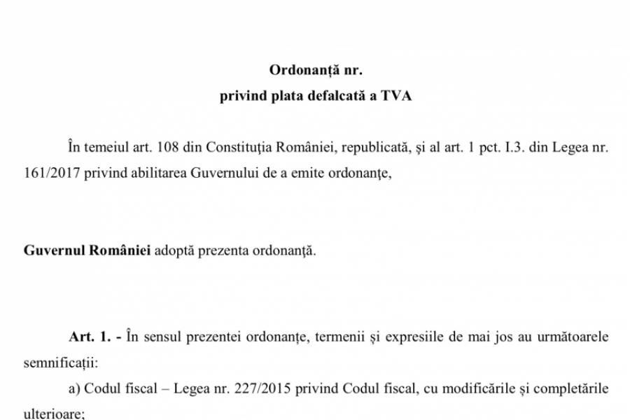 Split TVA