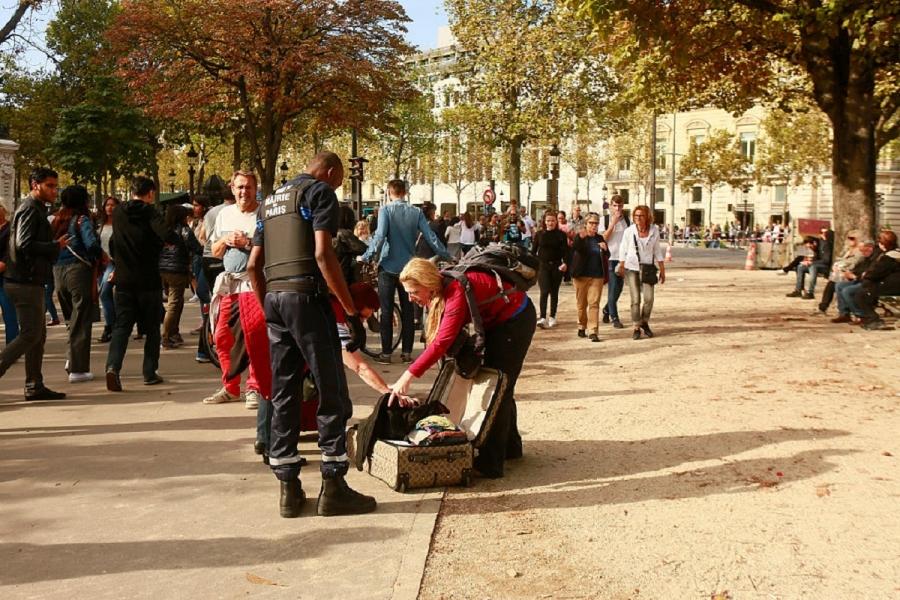 Paris antiterorism