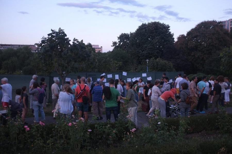 Parcul Circului protest