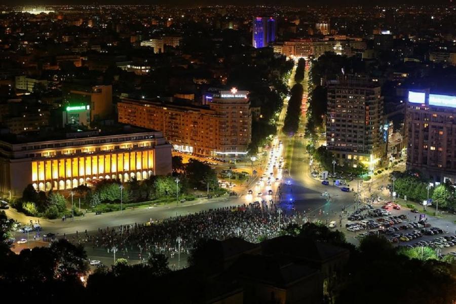 Protest Piața Victoriei (Foto: Dan Mihai Bălănescu)