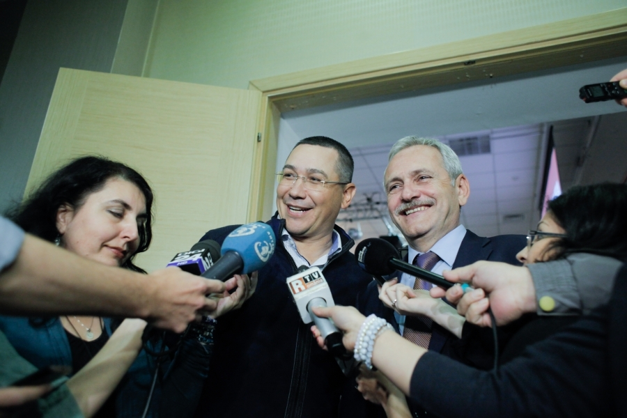Liviu Dragnea și Victor Ponta