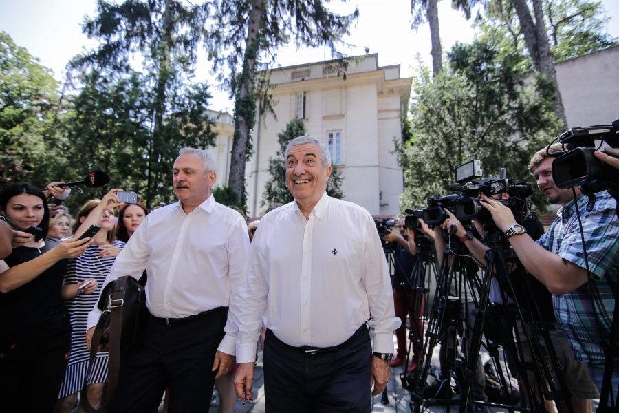 Popescu Tariceanu și Dragnea