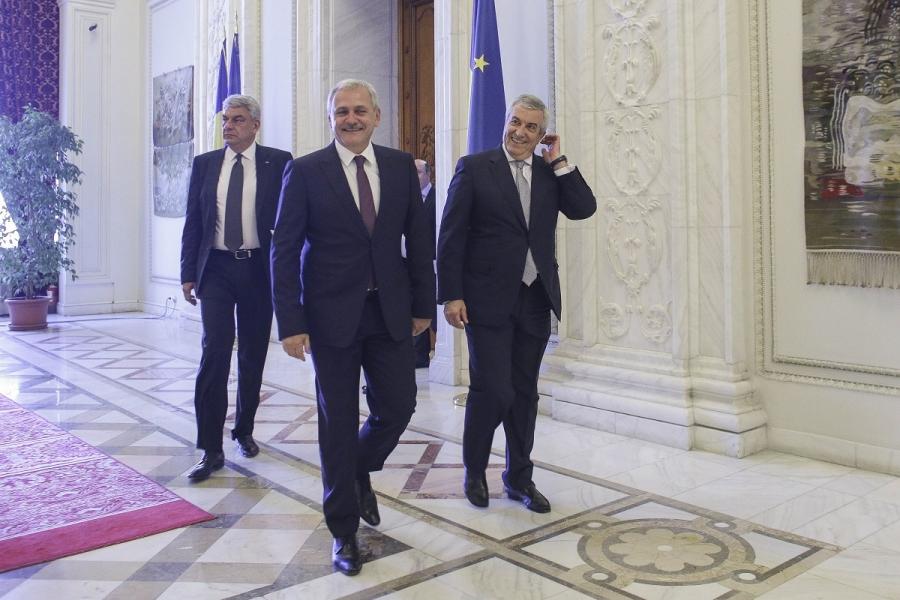 Liviu Dragnea - Călin Popescu Tăriceanu - Mihai Tudose