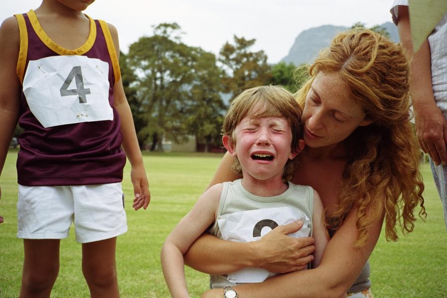 Copil plângând