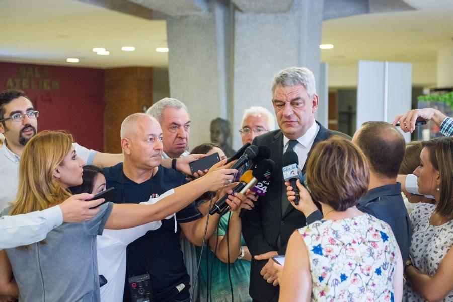 Premierul Mihai Tudose-