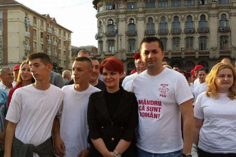Lia Olguța Vasilescu - sindicaliști