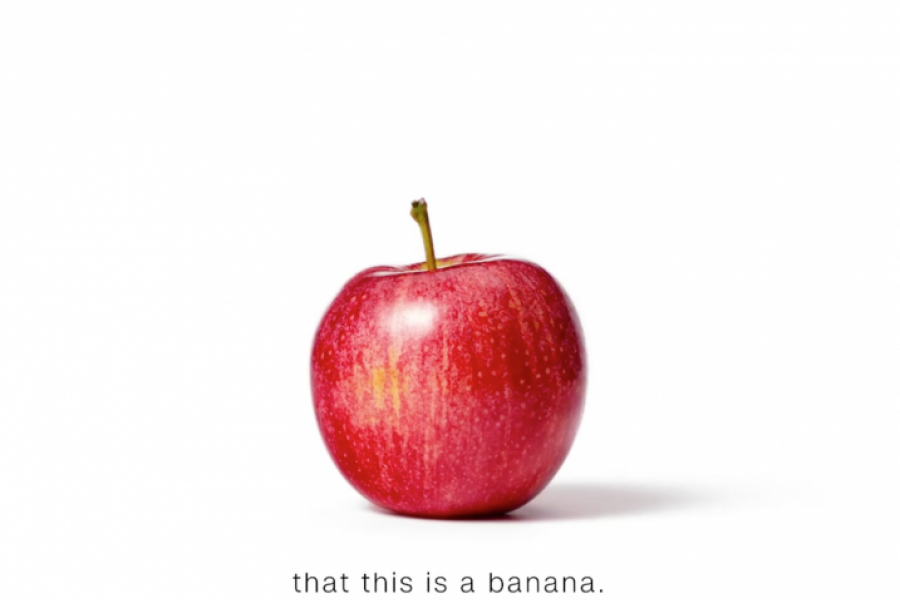 Mărul nu e banană