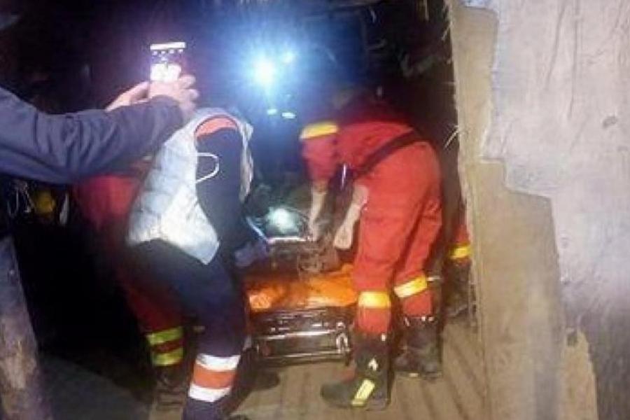 mineri raniti