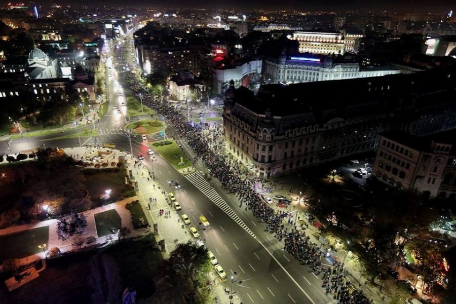 Protest Bucuresti 5 noiembrie