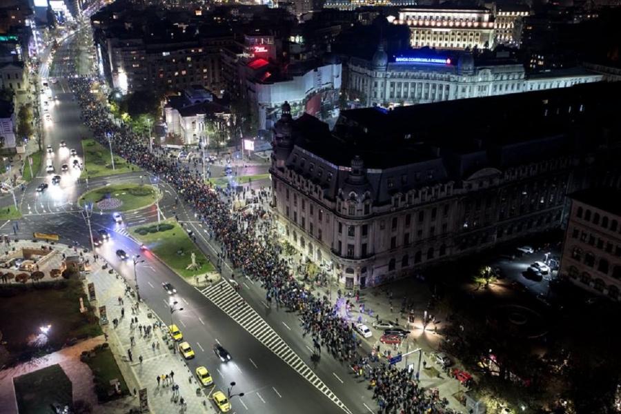 Proteste noiembrie (Foto: Dan Mihai Bălănescu)