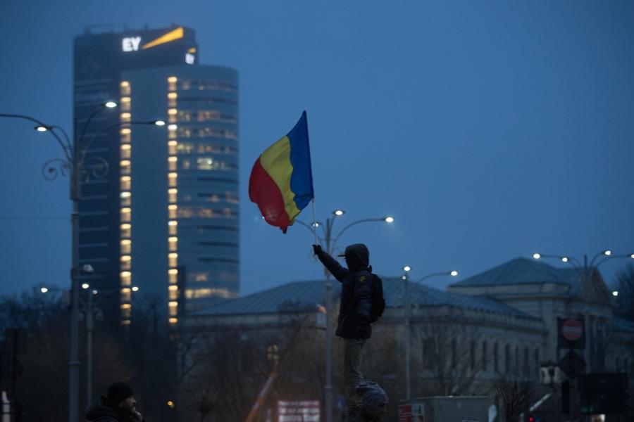 Copil cu steag