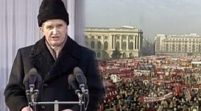 Ceaușescu, 21 decembrie