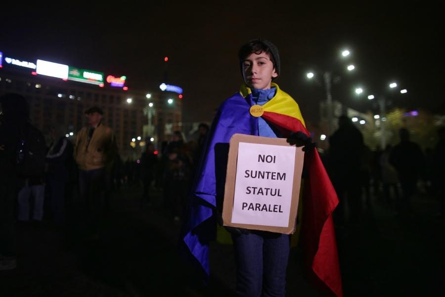 Proteste - statul paralel