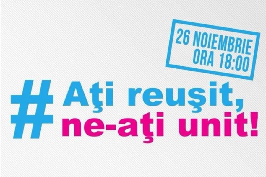 Protest 26 noiembrie