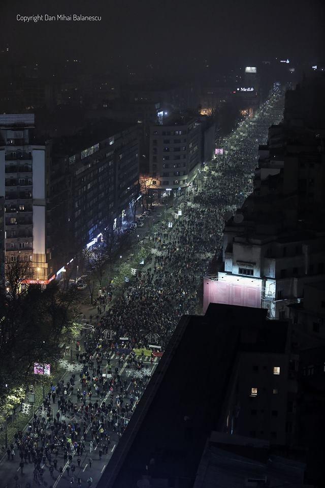 Protest Bucuresti, 26 noiembrie