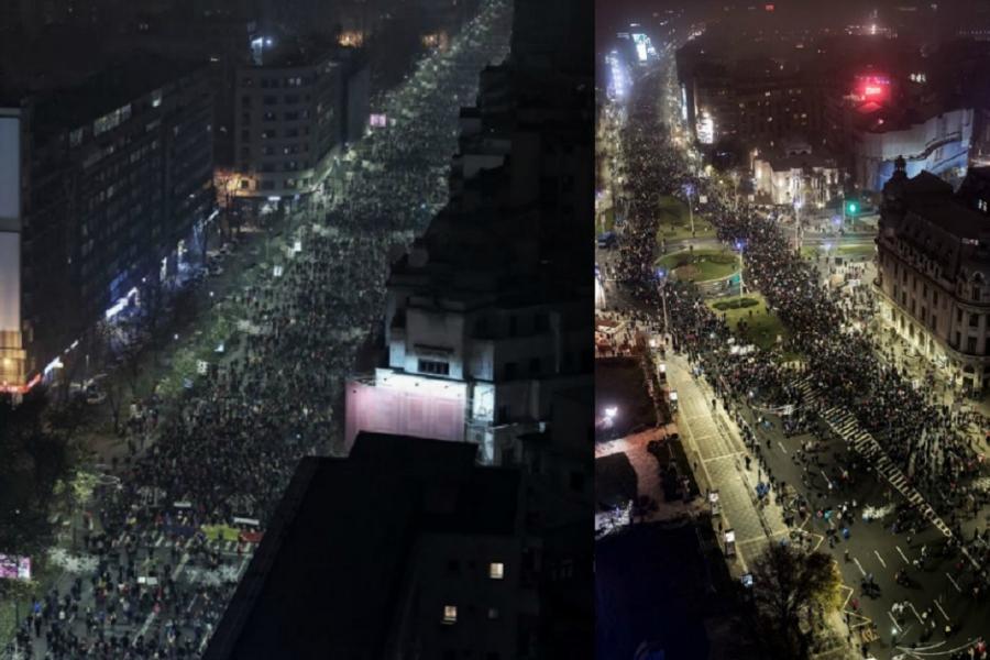 Proteste noiembrie