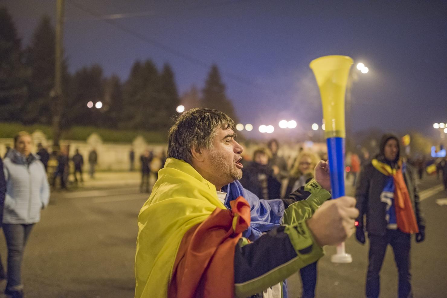 Protest București, 26 noiembrie --