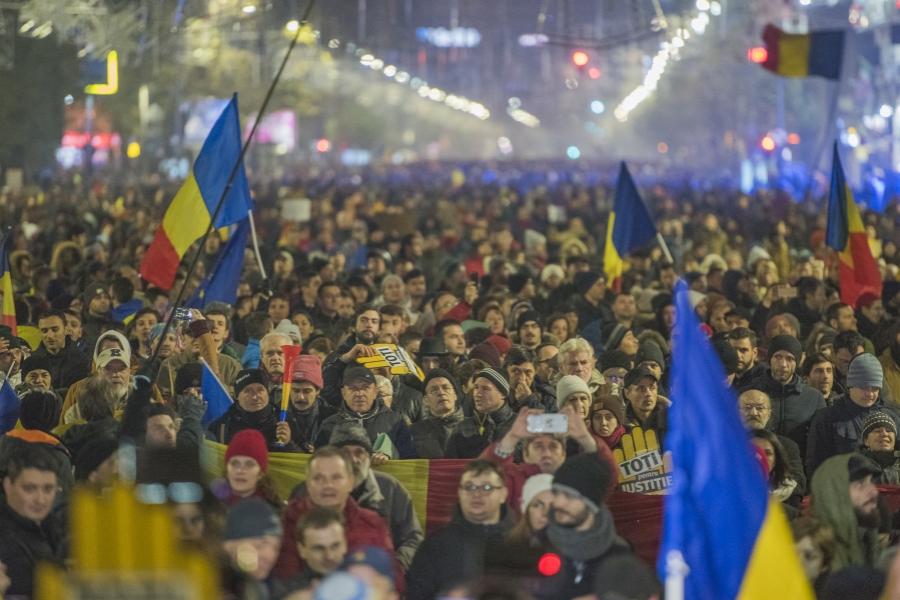 Protest București, 26 noiembrie -
