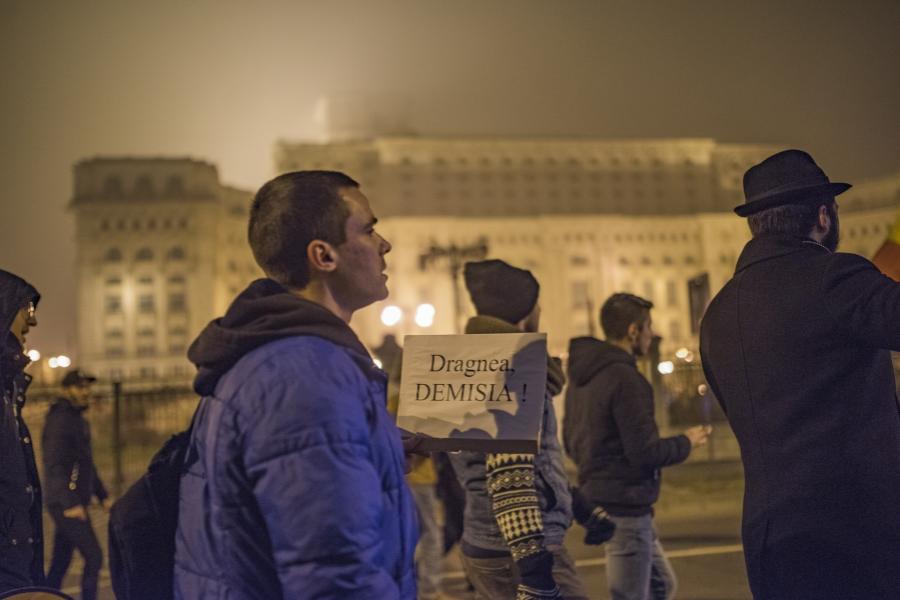Protest București, 26 noiembrie 2017