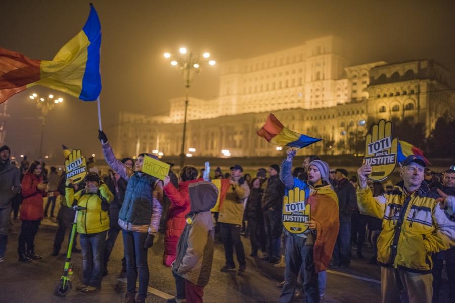 Protest București, 26 noiembrie ---