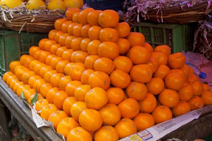 Vânzător portocale