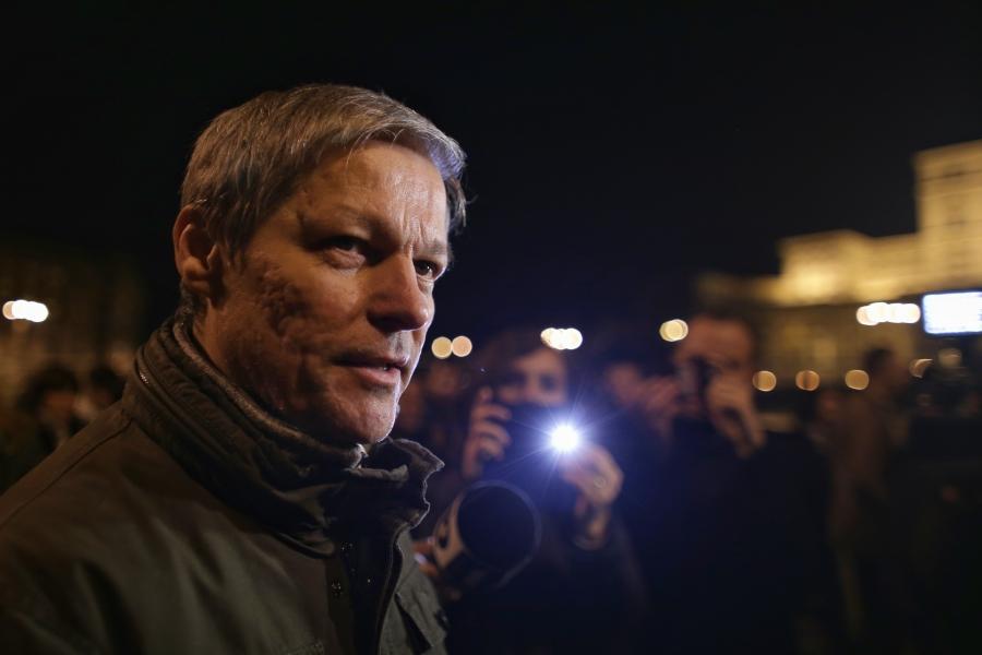 Dacian Cioloș la proteste