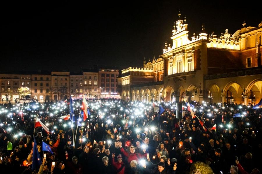 Proteste în Polonia