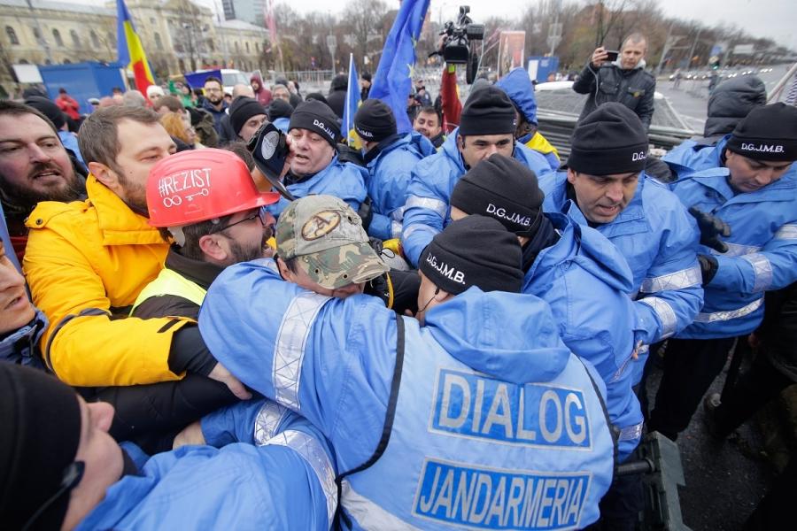 Protest jandarmi