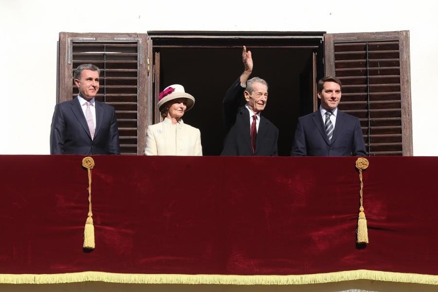 Regele Mihai, Prințul Nicolae, Principele Radu, Principesa Margareta
