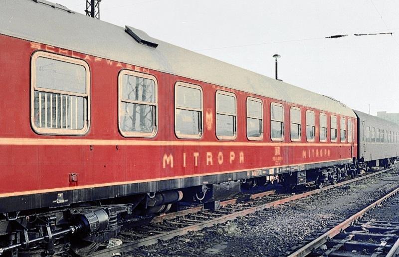 Tren vagon de dormit