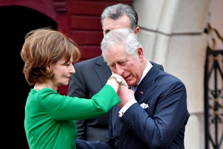 Prințul Charles și principesa Margareta