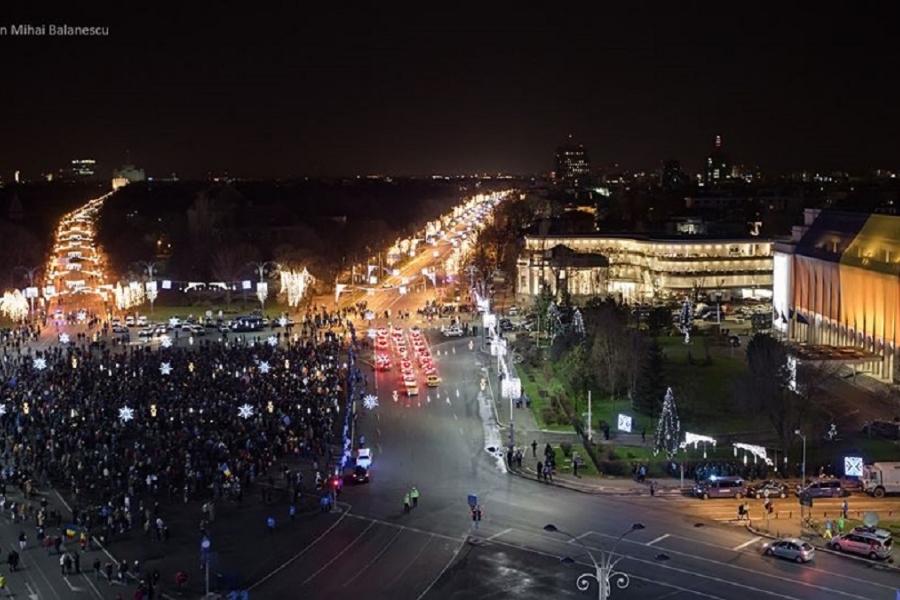 Protest 10 decembrie - foto Dan Mihai Bălănescu