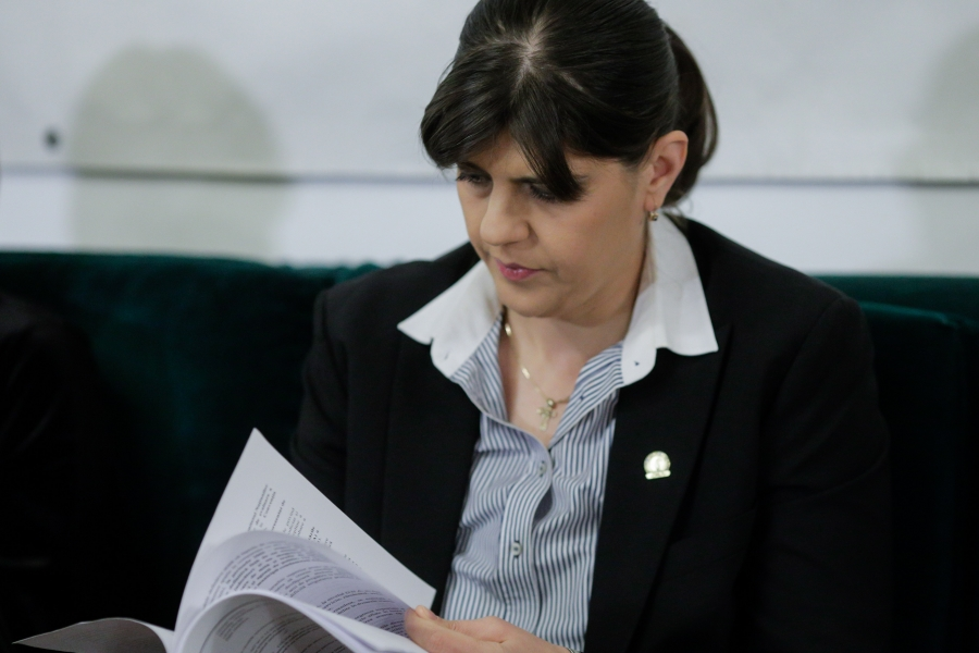 Laura Codruța Kovesi - Foto George Călin