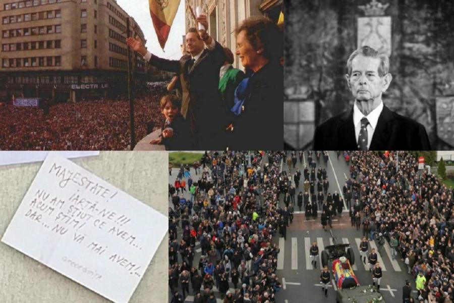 Regele Mihai - 1992 și 2017